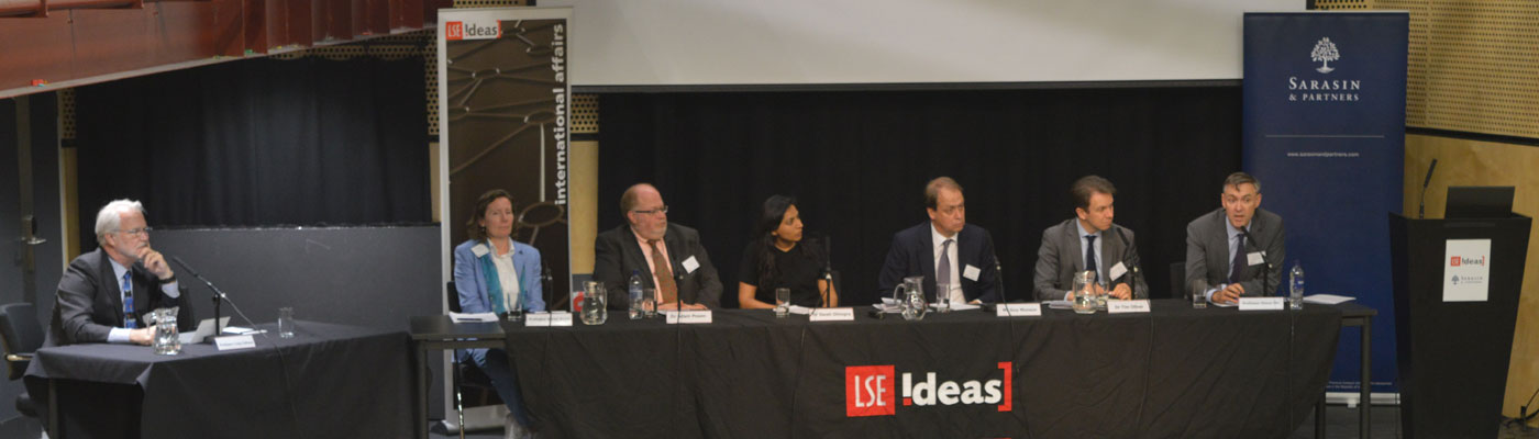 Panel of speakers at LSE IDEAS EU Referendum: What Now? event