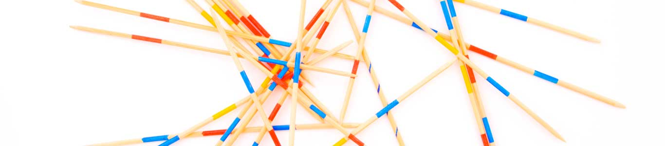 Pick up sticks. Logo of LSE Diplomacy Commission