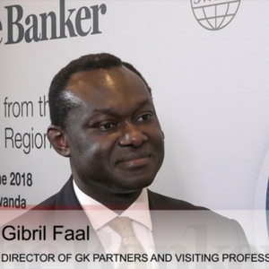 Gibril Faal, The Banker interview