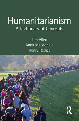 Humanitarianism Dictionary cover