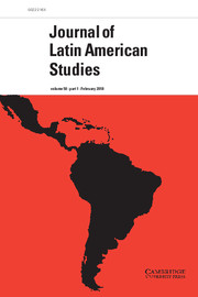 Journal of Latin America Studies cover