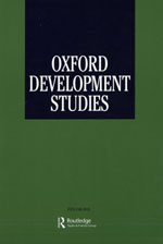 Oxford Development Studies, Publication