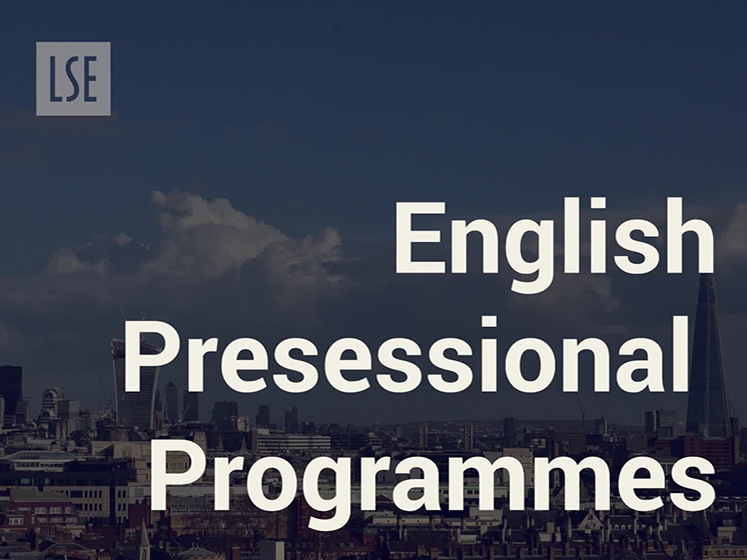 LSE Language Centre English Presessional Programme