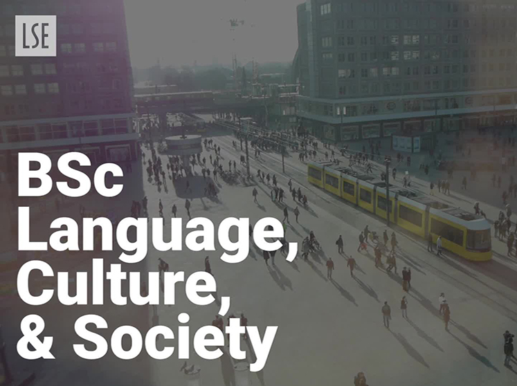 BSc Language, Culture and Society
