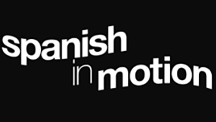Spanish in motion logo