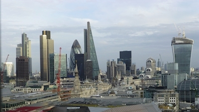 City of London panoramic view