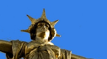Old Bailey statue of Justice