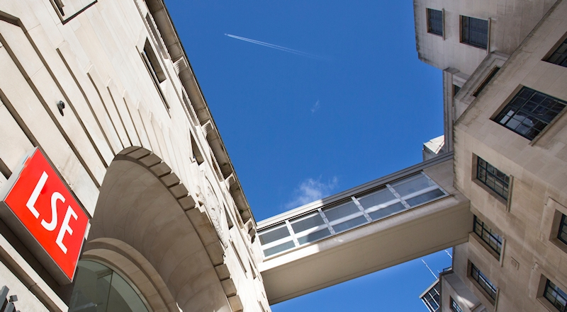 LSE buildings and walkway