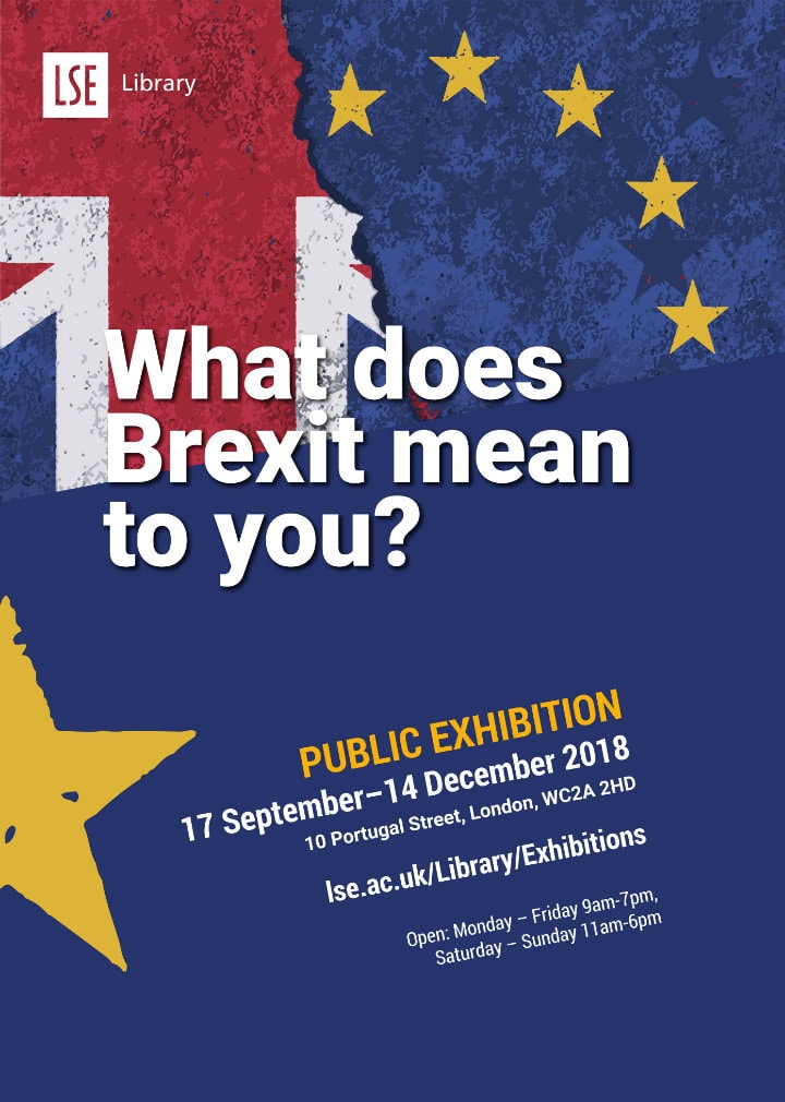 brexit exhibition poster