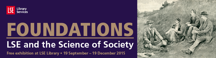 Foundations exhibition banner
