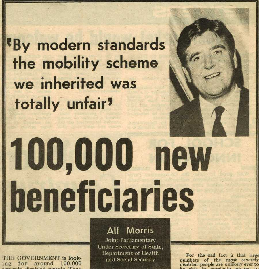 An extract from Co-operative News, 24 October 1975