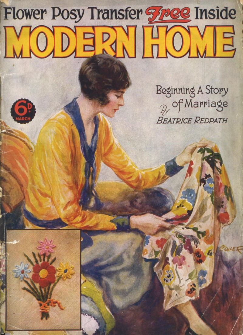 The front cover of Modern Home