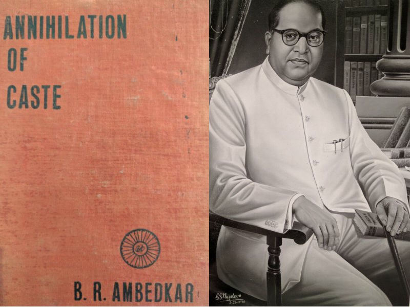 Ambedkar and one of his publications