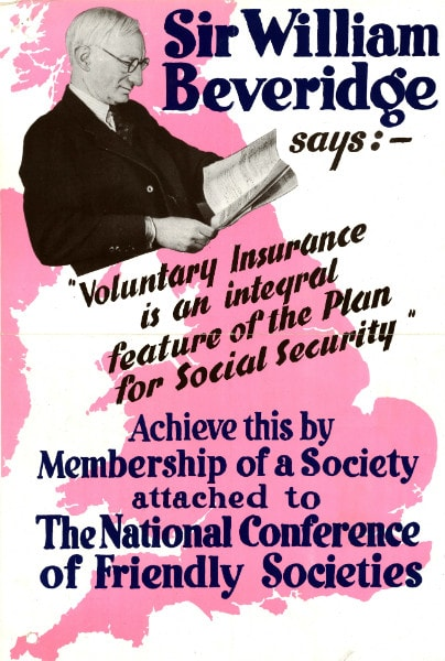 Poster for the National Conference of Friendly Societies