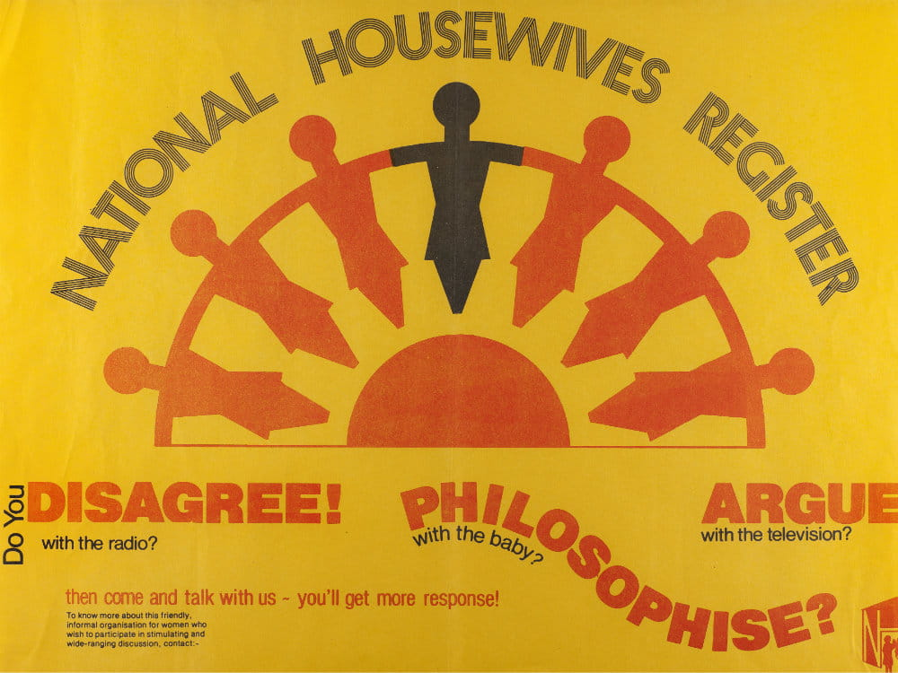 National Housewives Register poster