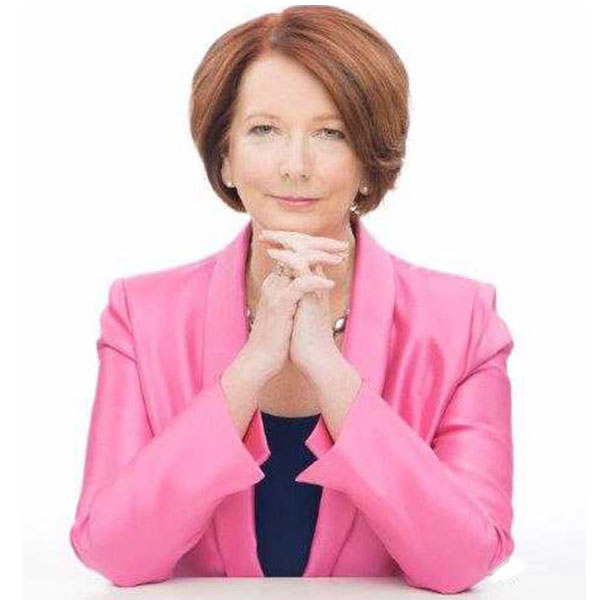 Image of Julia Gillard, the 27th Prime Minister of Australia