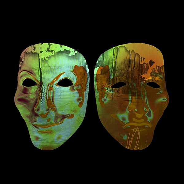 Image of two masks