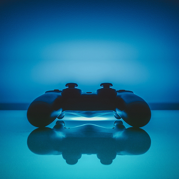 Image of games console