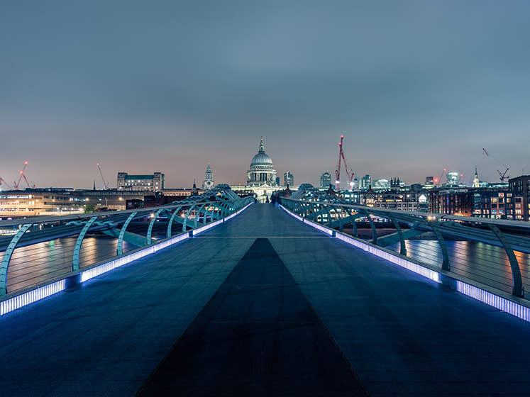 Millennium Bridge & St Paul's Cathedral