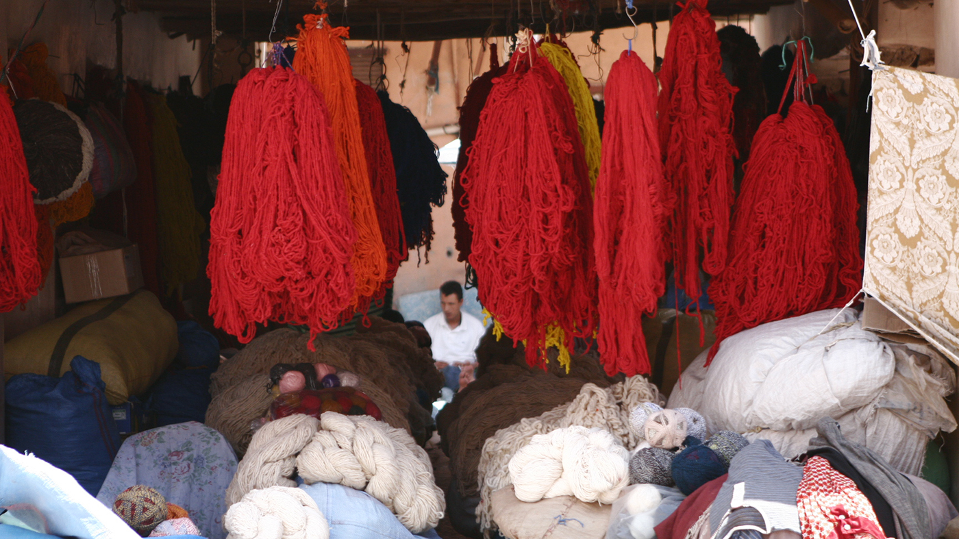Textile production in Morocco