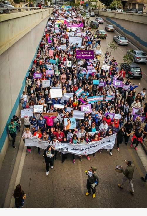 Women's March Beirut 500-733