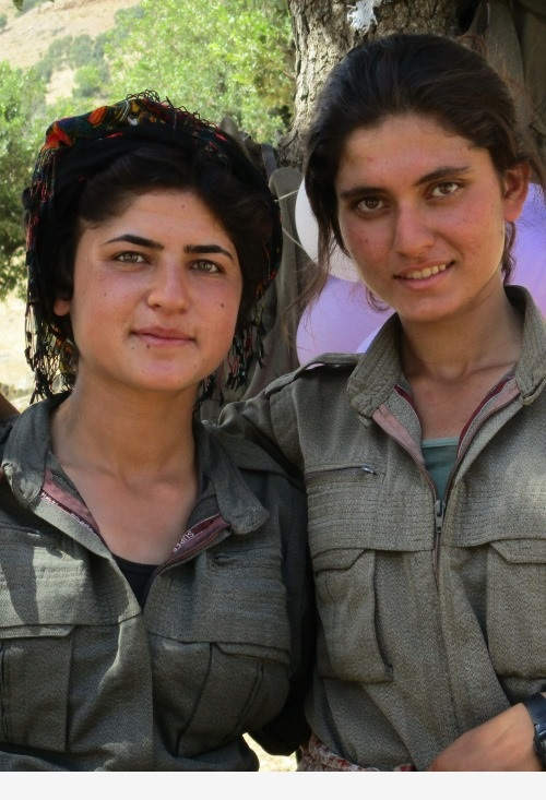 kurdish women fighters 500-733