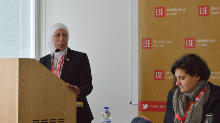 Speakers at LSE Middle East Centre event