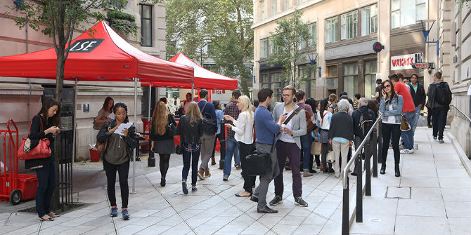 25 March: LSE Undergraduate Open Day