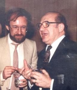 John with Adolph Grünbaum