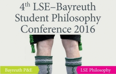 LSE-Bayreuth Student Philosophy Conference