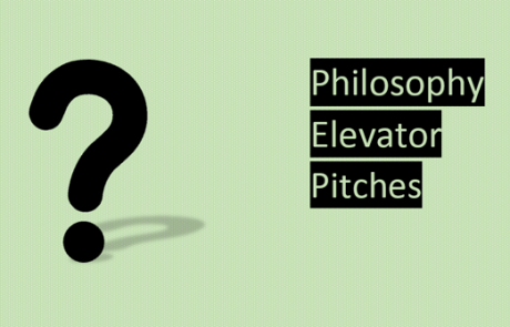 Philosophy Elevator Pitches: A New Event Series