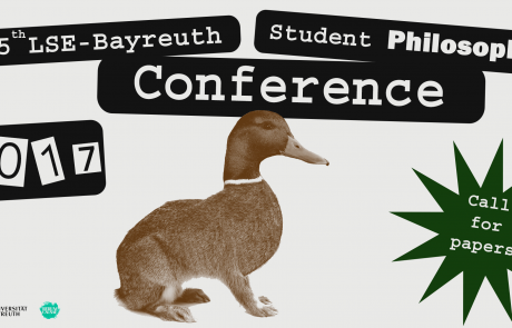 5th LSE-Bayreuth Student Philosophy Conference 2017