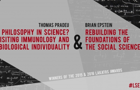 9 November: Lakatos Award Lectures with Thomas Pradeu and Brian Epstein