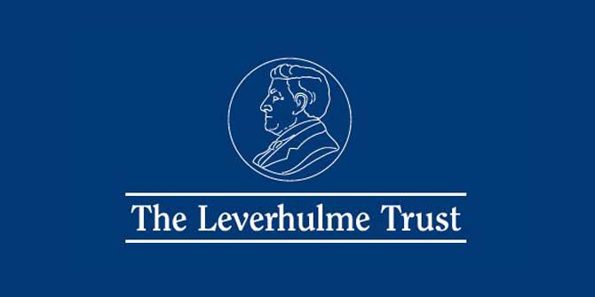 Bryan Roberts awarded Leverhulme prize