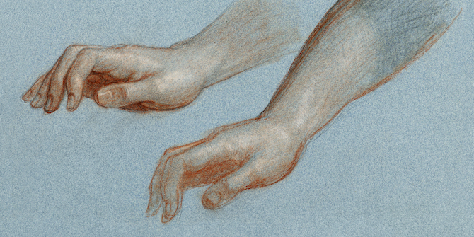 Study of Angel's Hand for