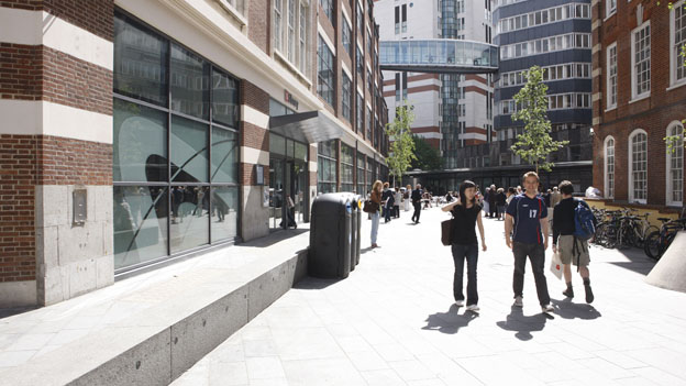 The LSE Library in summer