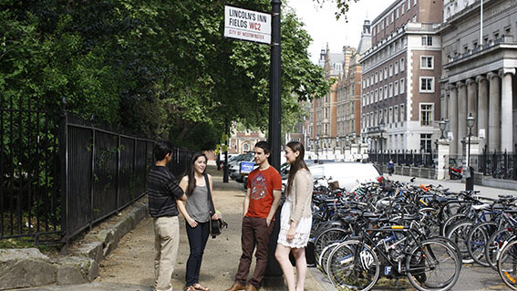 Lincoln's Inn Fields street sign