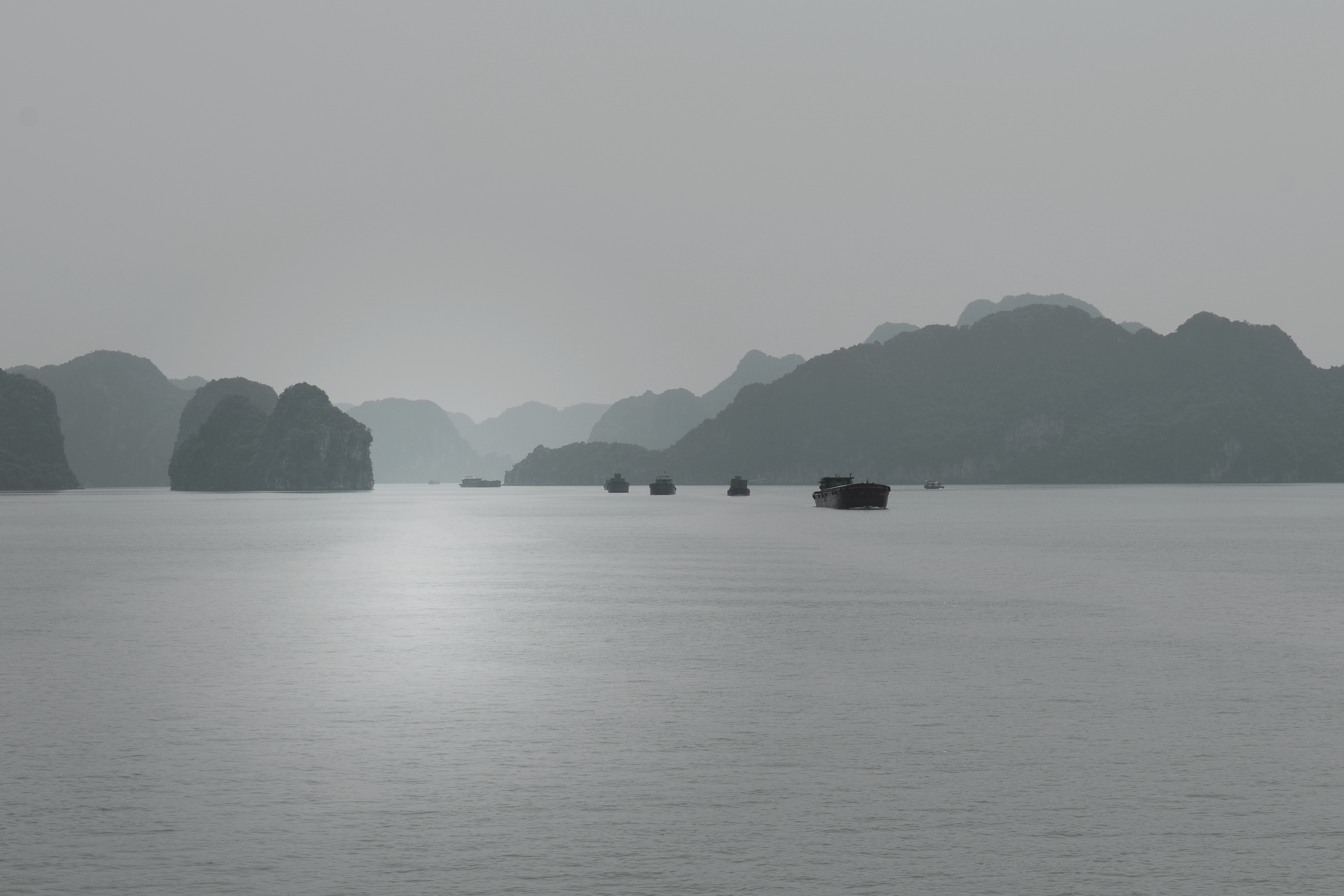 Mountains by the sea in Vietnam