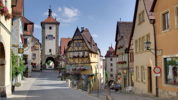 German town Rothenburg