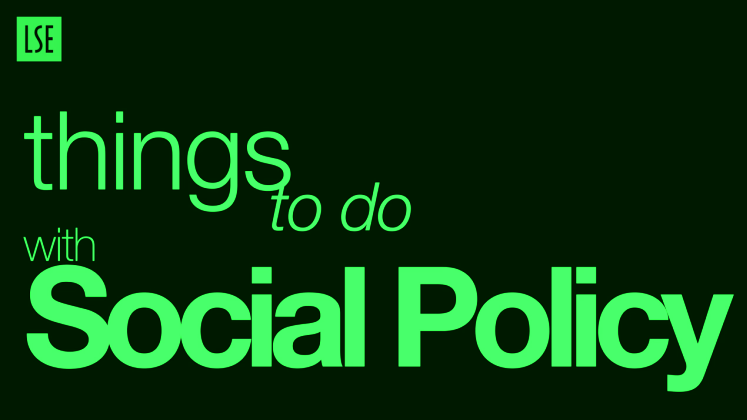 Things to do with Social Policy-green