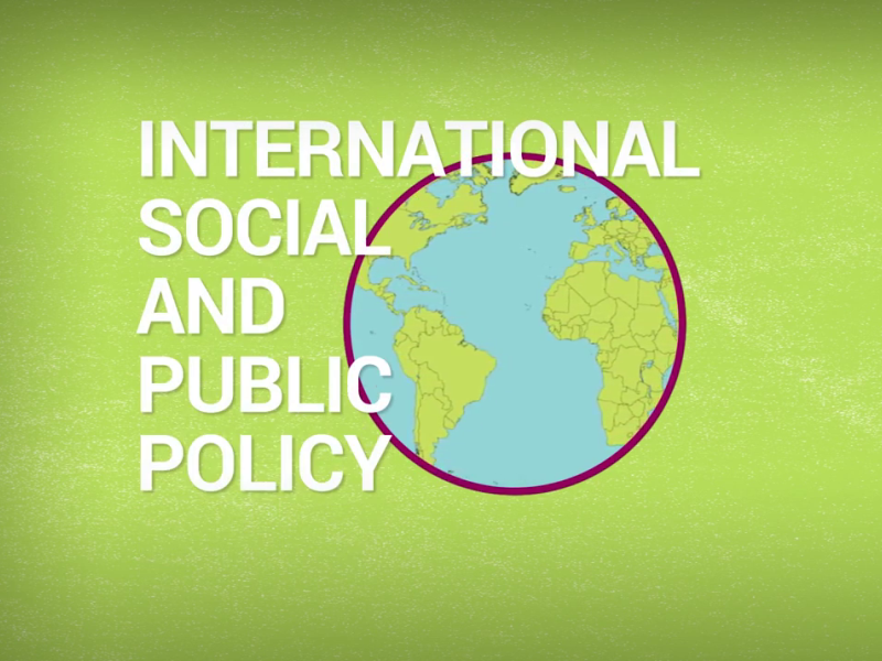 An introduction to the subject of International Social and Public Policy