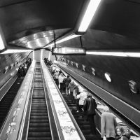 OXO Gallery image- escalator