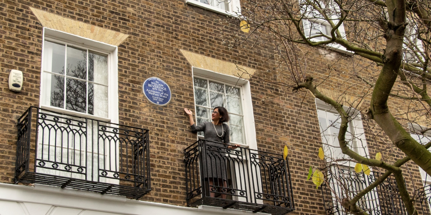 Blue Plaque Beveridge