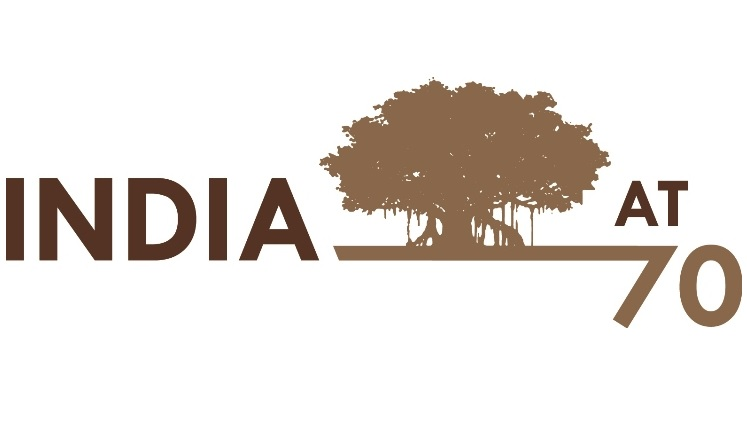 logo of India at 70 summit