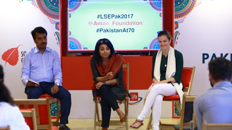 Digital panel at LSE Pakistan summit