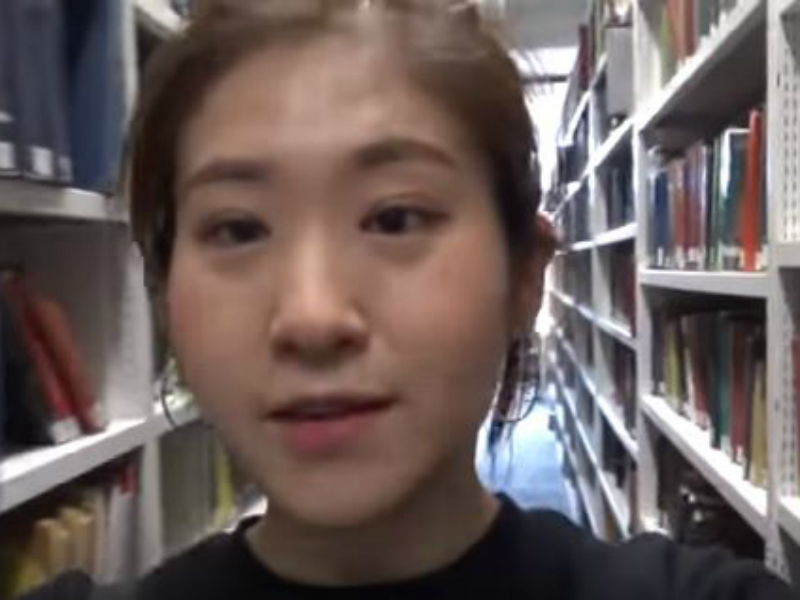 Student video diary, April 2017: Yea Won takes us on a tour of the LSE Library