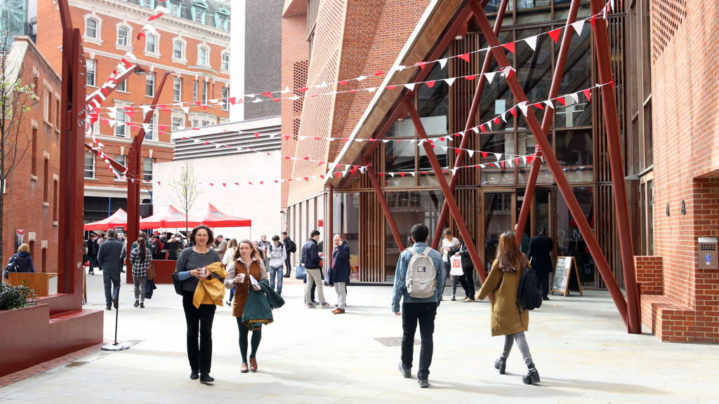 Photo from LSE's Undergraduate Open Day