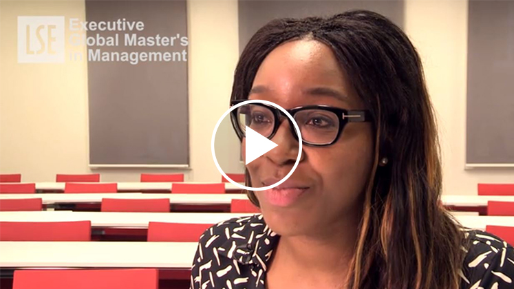 Executive Global Master's in Management programme video