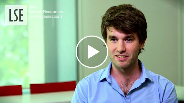MSc Human Resources and Organisations programme video