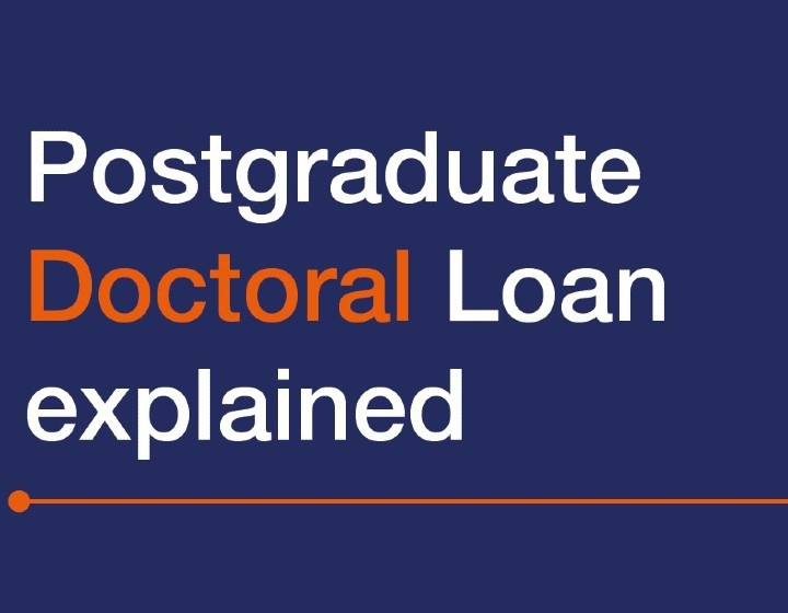 Postgraduate Doctoral Loan explained - a video by Student Finance England